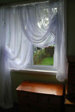 Unbranded Voile Curtains with Pencil Pleat