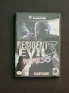 Resident Evil 3: Nemesis Nintendo GameCube Complete Manual Inserts