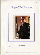German Terminator Sprint Phone Card 1997 Vintage Original Arnold Schwarzeneger
