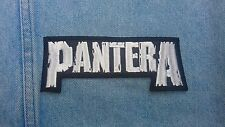 Pantera embroidered patch hard rock motorhead kiss black label society