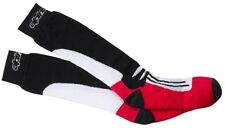 Alpinestars Road Racing Socks Long Gr. S/M schwar/rot Motorrad Socken