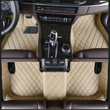 For Lincoln MKS - 2009-2015 6 Colours leather Car Floor Mats Waterproof Mat