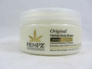 HEMPZ ORIGINAL BODY BUTTER ANNIVERSARY EDITION INTENSE MOISTURE THERAPY
