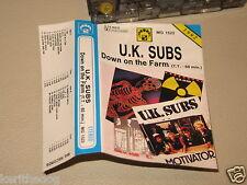 UK SUBS - Down On The Farm - MC cassette un/official polish tape 1992/758