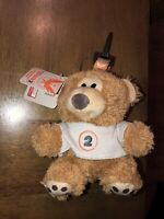 """The Division 2 TOMMY THE TEDDY BEAR 6"""" PLUSH Backpack Keychain Ubisoft NEW 2019"""