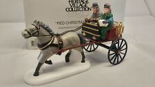 Dept 56, Heritage Collection 'RED CHRISTMAS SULKY' #58401