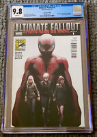 🔥 ULTIMATE FALLOUT #1 CGC 9.8 SDCC EDITION VARIANT MARK BAGLEY COVER (2011) 🔥
