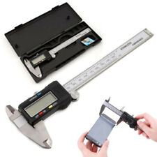 0-150mm Stainless Steel Electronic Digital LCD Vernier Caliper Gauge Micrometer