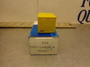 FORD OEM E5RY-14N089-A Yellow 4 Prong Relay for Merkur Scorpion Many Functions
