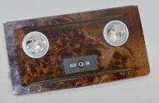 Org bmw 5er e60 e61 lci barra de madera barra diafragma atrás madera alamos Maser oscuro