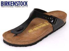 Birkenstock Gizeh Womens US Size 8 Black Open Toe Thongs Sandals Shoes UK 6