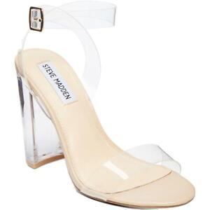 Steve Madden Womens Black Heel Dressy Heels Shoes 6.5 Medium (B,M) BHFO 1214