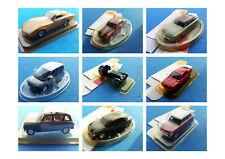 Solido Hachette 1:43 - Lancia, Jaguar, Alpine, Citroen, Mini, Fiat, Renault, Che