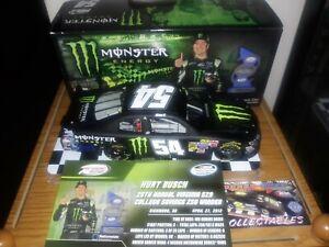 Kurt Busch diecast 1 /24 Monster Energy nascar racing
