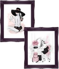 Fashion Illustration Fashion Art Poster Prints Wall Art Home Decor A4 Art Prints