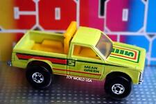 1987 Hot Wheels Color Racers Mean Green Racing Team Chevrolet S10