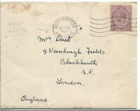 1927 King George V 2d dull purple cancelled with Southampton cancel my ref 716