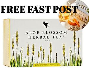 Forever Living ALOE BLOSSOM Herbal Tea Coffeine-free - FAST DISPATCH