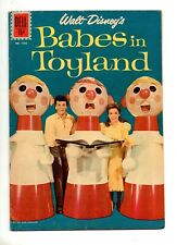 Babes in Toyland #1 ANNETTE FUNICELLO PHOTO COVER Four Color #1282 VF 8.0 DISNEY