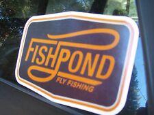Fishpond Flyline Casting Fly Fishing sticker