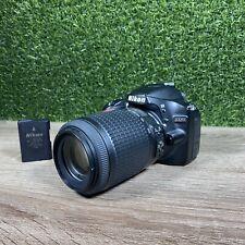 New ListingNikon D3200 24.2Mp Digital Slr Camera w/ 55-200mm 4-5.6 Lens Vr Lens