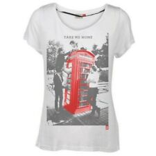 One Direction Ladies Tee: Take Me Home with Skinny Fitting (Small)