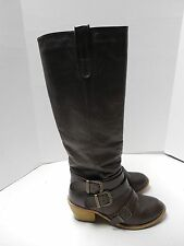 Womens Size 7 Charlotte Russe Brown Knee High Boots