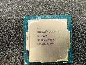 Intel Core i3-7100 @ 3.90 GHz Desktop CPU