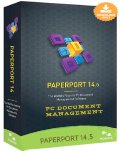 Nuance PaperPort Professional 14.5(Pro managing The Documents) D`igital Delivery