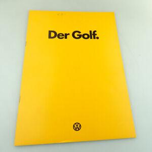 VW Golf I Prospekt Katalog von 1974 DIN A4 26 Seiten TOP !!! #441