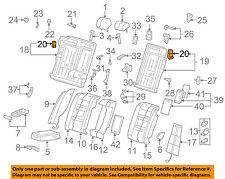 AUDI OEM 02-08 A4 Quattro Rear Seat-Latch Right 4B0885734C