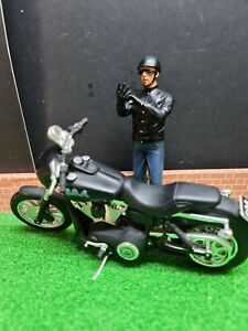 dolls house accessories easy rider bike and rider figure suns of anarchy 1.12th