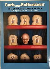 Curb Your Enthusiasm: The Complete Fourth Season (DVD, 2005, 2-Disc Set)