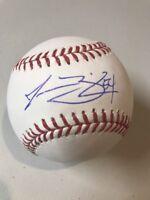 Jesse Biddle Autograph Signed OMLB Official Major-League Baseball
