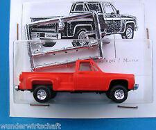 Trident ALPHA h0 90015 CHEVROLET fenderside Pickup rouge CHEVY HO 1:87