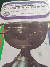 1980  All Ireland Football Final Programme