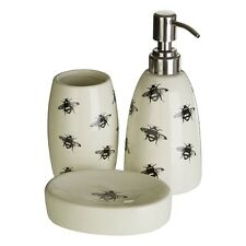 Queen Bee 3Pc Bathroom Set For Organised And Tidy Space In Home Office Bathroom