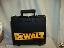 DeWalt Carry Storage Hard Case Only for DC727KA Tools- Holds Drill, Saw Etc. NEW