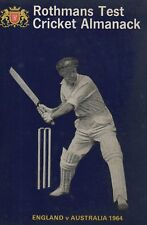 Rothmans Test Cricket Almanack - England -v- Australia 1965 - Arlott (1964)