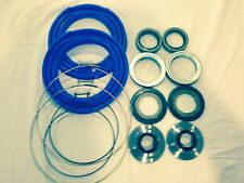 Rockwell 2.5 Ton Front Axle Blue  Boot and Seal Kit M35 M109 Military Mud Truck