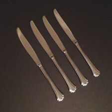 Oneida Midtowne Four (4) Solid Dinner Knives 18/0 Stainless Flatware
