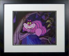 Cheshire Cat Disney Cel Alice Wonderland Sericel New Frame Signed Ward Kimball