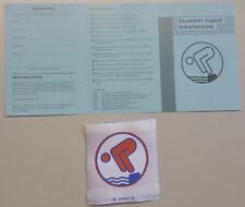 Schwimmabzeichen Urkunde Schwimmpaß für Erwachsene DSP NEU