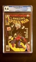 Amazing Spider-Man #194 CGC 9.4 Newsstand Edition White Pages 1st Black Cat