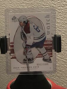 2005-06 SP Authentic 0591/1999 Jean-Philippe Cote #269 Rookie FREE SHIPPING