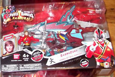 Power Rangers Samurai SHARKZORD shark zord water KEVIN Bandai MIB