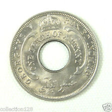 New listing British West Africa One Tenth of a Penny Coin 1936 Unc, George V