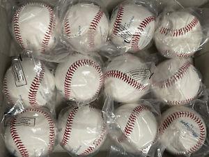 (12) 1 Dozen MacGregor #74 Official Babe Ruth Baseball Baseballs Lot New Plastix