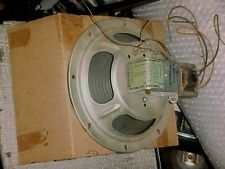 RCA ANTIQUE SPEAKER MI-12420-8 WITH OUTPUT TRANSFORMER NOS BOXED 8 INCH