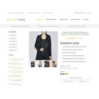 EBAYVORLAGE Auktionsvorlage Gala RESPONSIVE Mobil Design HTML Template